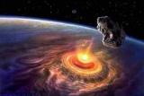 Падение метеорита на Землю заставили вулканы бесятся