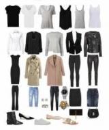 Гардероб - это набор существующих у человека в наличии одежды. Женский основной гардероб