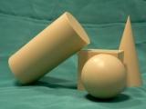 Геометрические объемные фигуры и их названия: шар, куб, пирамида, призма, тетраэдр
