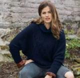 Пуловер летучая мышь спицами: описание, пошаговые инструкции и приемы по вязанию