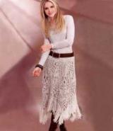 Юбка с бахромой: описание модели, модные и стильные сочетания, фото