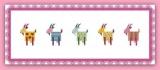 Подборка схем для вышивки крестом овечки и козочки
