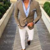 С чем носить коричневую куртку: мужские и женские стильные фотографии, советы и фотографии