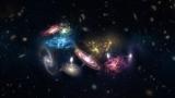 Астрономы засняли слияние 14 галактик