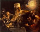 Пир Валтасара - что означает выражение?