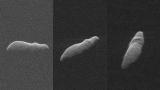 К Земле летит рождественский астероид-бегемот