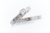 Обручальные кольца с бриллиантом огранки: свет вечной любви