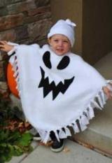 Костюм призрака на Хэллоуин для взрослых и детей