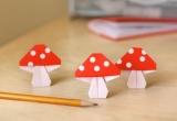 Как сделать оригами гриб - схема, пошаговые инструкции и видео