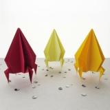 Как сделать оригами ракету