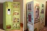 Как красиво украсить холодильник своими руками: идеи обустройства и фото