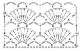 Вязание крючком ажурные палантины. Схема и описание